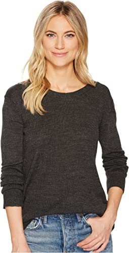 Granada Lace-Up Back Sweater
