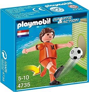 PLAYMOBIL® Netherlands Soccer Player Toy