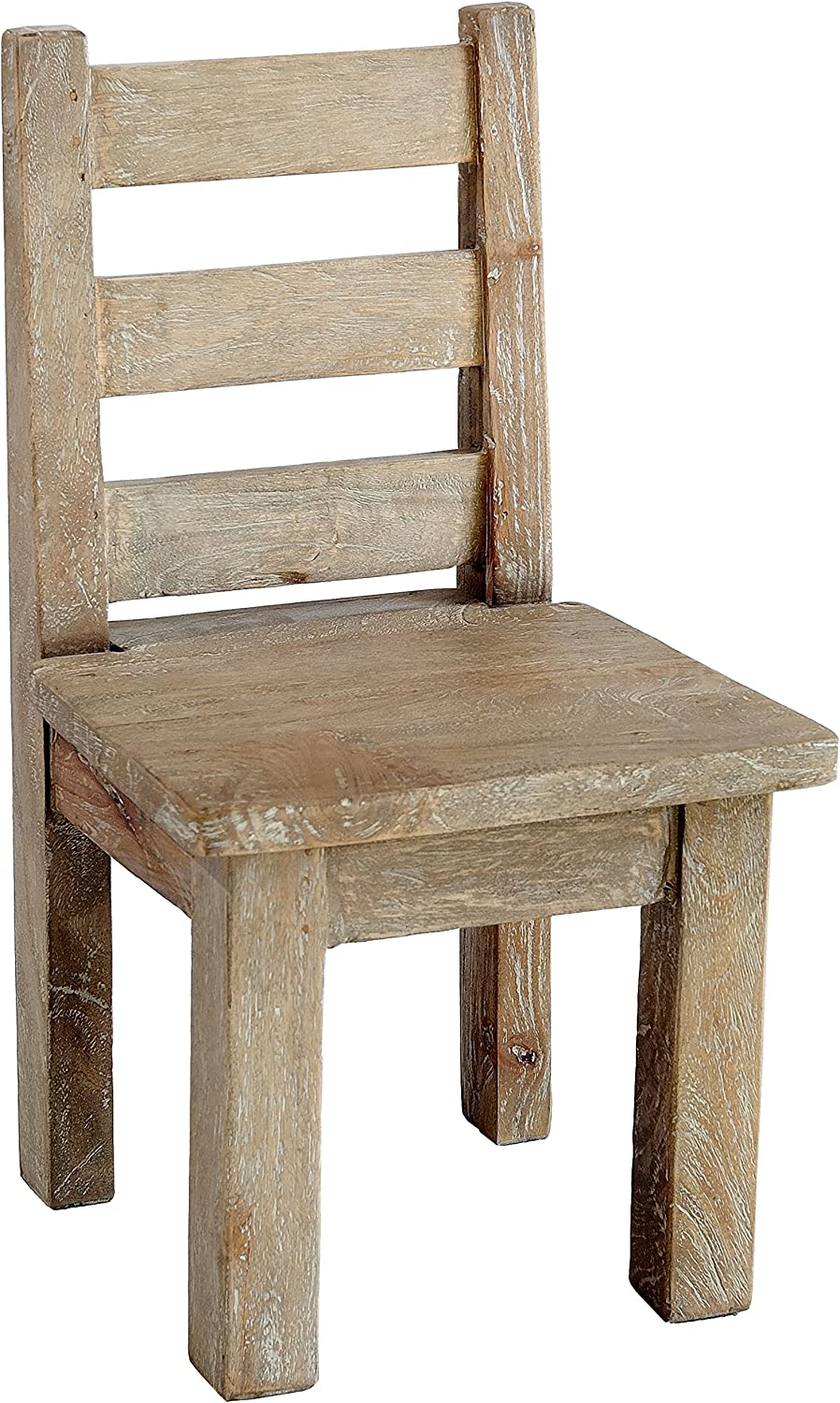 Complete Free Shipping Casual Elements Child Chair Set of shipfree Grey Wash Rustic Mango 2