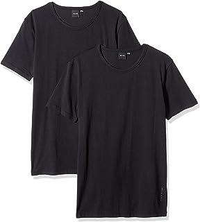 Hugo Boss Men's 2-Pack Round Neck Cotton Stretch T-Shirts