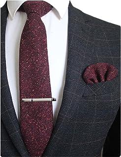 مجموعه های کلیپ پشمی JEMYGINS رنگ جامد کشمیر و جیب مربعی