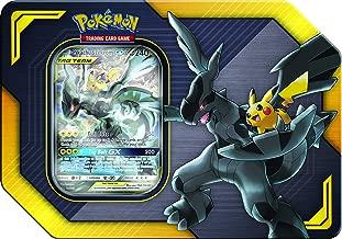 Pokemon Tag Team Tin Pikachu & Zekrom- TCG: Sun & Moon- Contains 4 Booster Packs & Featuring 1 Special Art Pikachu & Zekrom-GX Foil Card