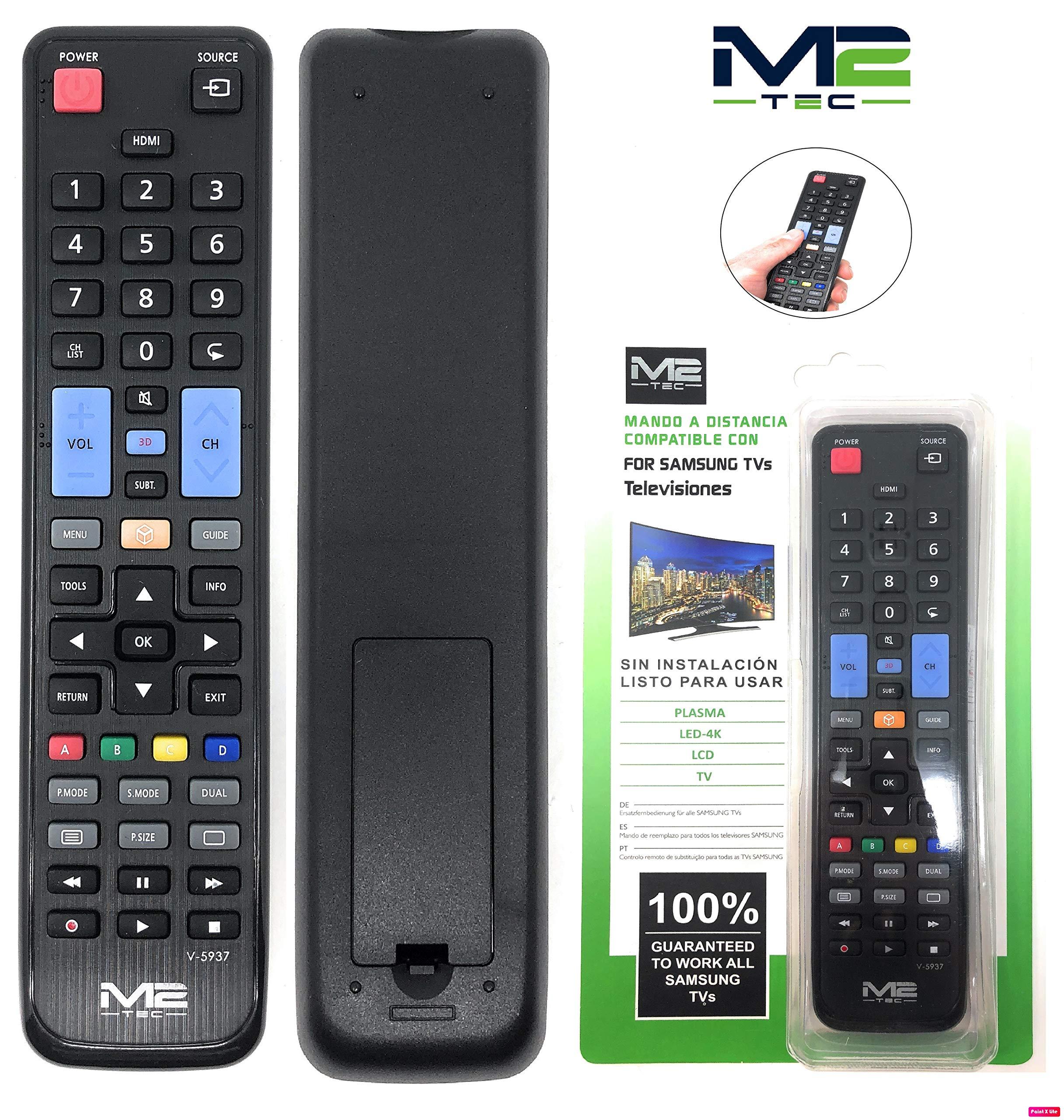 Mando a Distancia para Todos los televisores Samsung I Repuesto I Control Remoto I Televisor I Universal I LCD LED Plasma: Amazon.es: Electrónica