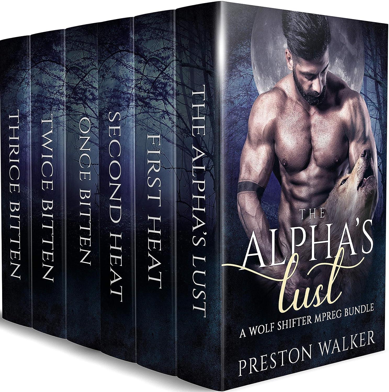 復活有望強風The Alpha's Lust: A Wolf Shifter Mpreg Romance Bundle (English Edition)