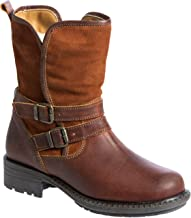 Women's Bos & Co Sahara Wool-Lined Waterproof Leather & Suede Boots