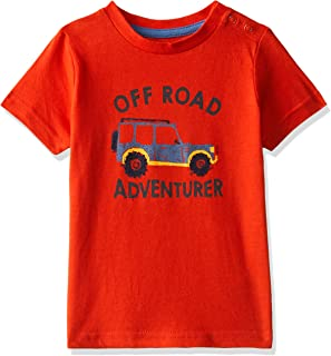 Mothercare Baby Boys' Animal Print Regular Fit T-Shirt