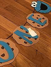 Cookie Monster - Sesame Street Birthday High Chair banner