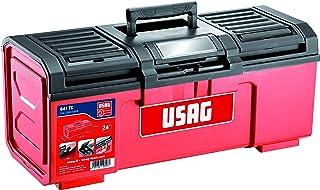Usag 641 Ta - Gereedschapskoffer 16 inch (40,6 cm) (leeg) - U06410004 24'' Veelkleurig.