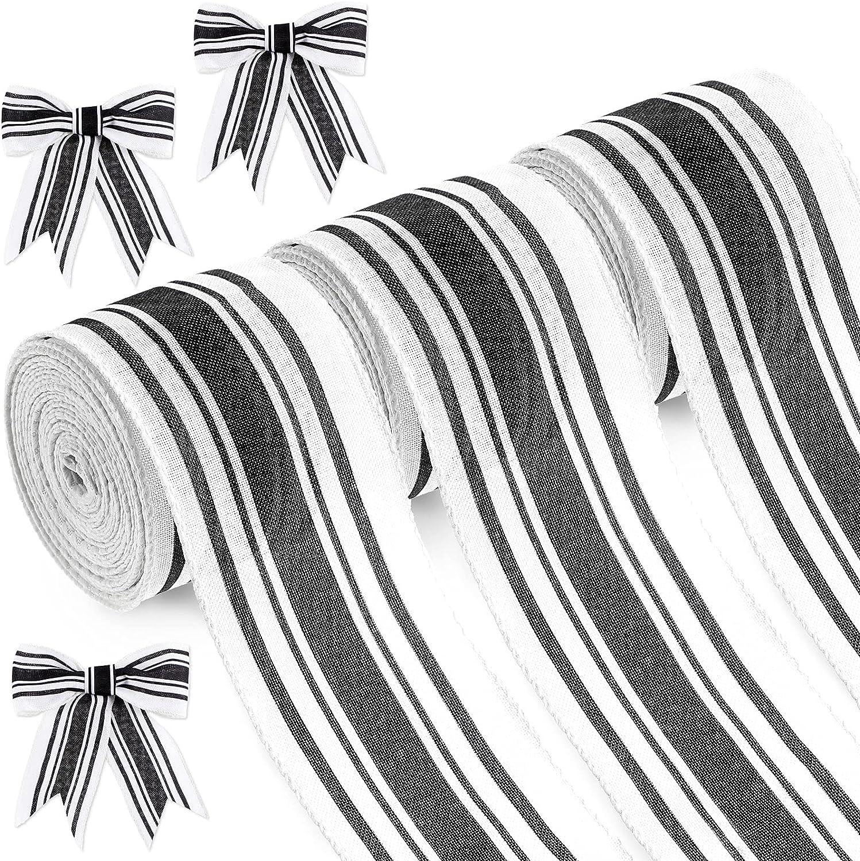 30 Yard Sale SALE% OFF x 2.5 Inch Farmhouse Edge Stripe Ribbon St In a popularity