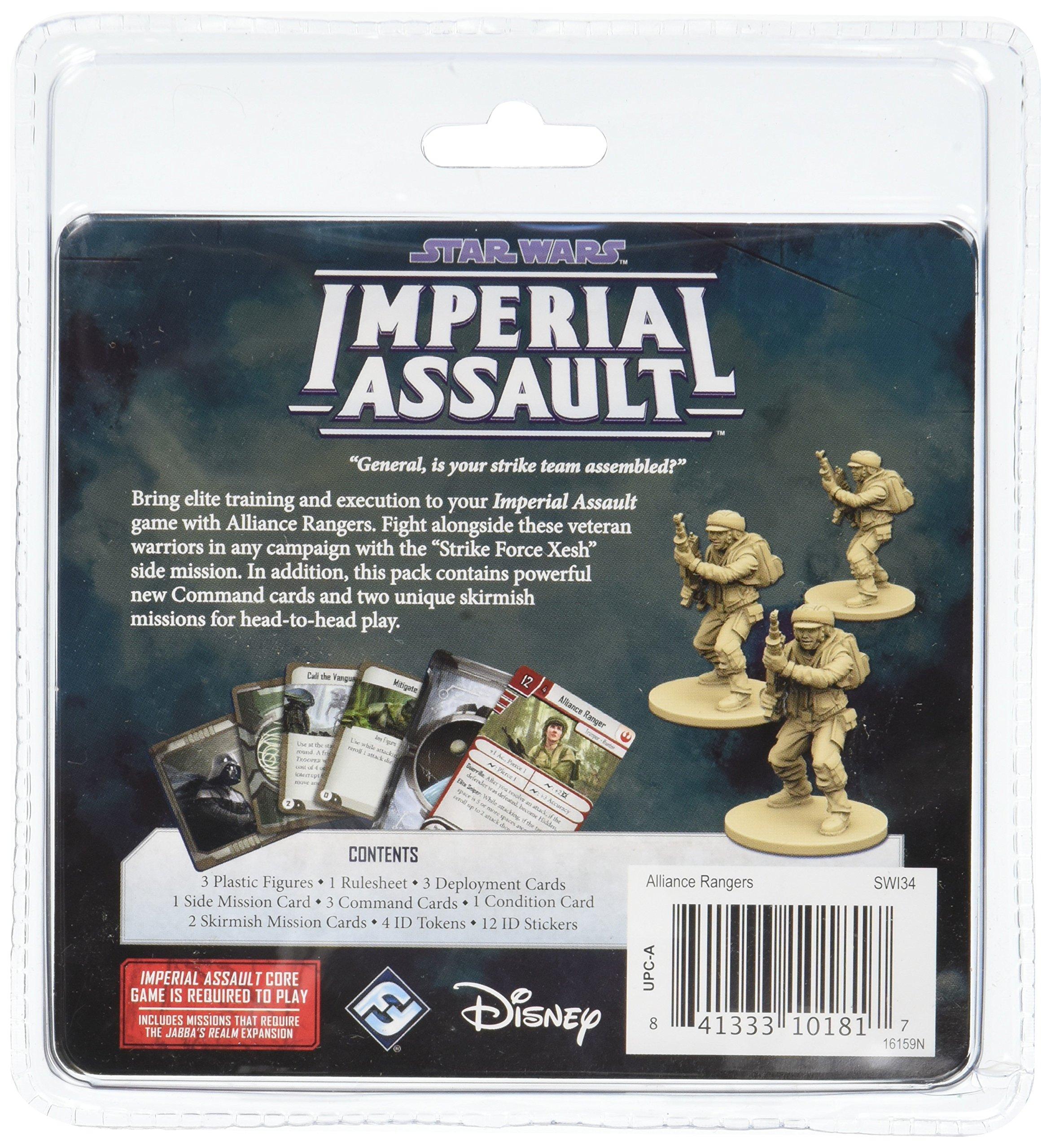 Fantasy Flight Games FFGSWI34 Alliance Rangers Ally Pack: Star Wars Imperial Assault, Multicolor: Amazon.es: Juguetes y juegos