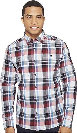 Crucial Long Sleeve Button Down Shirt