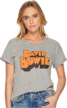 The Original Retro Brand - David Bowie Rolled Sleeve Crew Neck T-Shirt