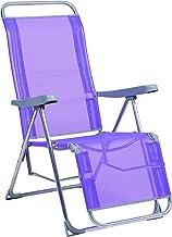 Alco 480ALF-0127 Relax Fibreline, gesloten been, 103 x 65 x 14 cm, paars