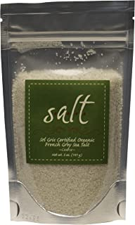 Sel Gris Certified Organic French Sea Salt, Course - 5 oz