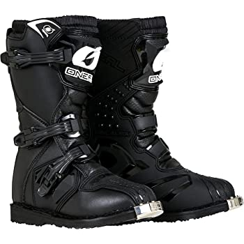 O'Neal - 0325-106 Boys New Logo Rider Boot (Black, Size 6)