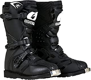 O'Neal Boys New Logo Rider Boot (Black, Size 5)