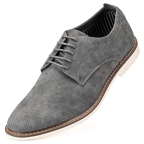 Men's Grey Dress Shoe: Amazon.com