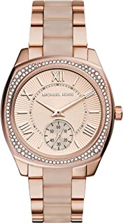 Michael Kors Women's Quartz Watch analog Display and Stainless Steel Strap, MK6135