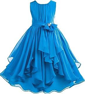 Áo quần dành cho bé gái – Yoryu Chiffon Flower Girl Dress Daily Dresses Ball Gown Princess Dresses 162S