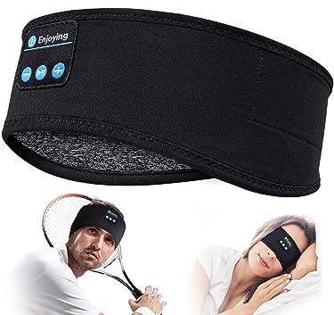 Sleep Headphones Personalised Gifts Sleepphones - Bluetooth Headband Sleep Headphones Wireless Sports Headband, Ultra-Soft Sleeping Headphones Built-in HD Stereo Speakers for Sports, Yoga, Sleepers