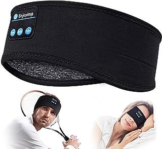 Sleep Headphones Bluetooth Headband-Wireless Sports Headband Headphones with Ultra-Soft Music Headband-Perfect Sleeping He...