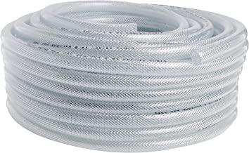 10mm transparent 12mm identity braided flexible pvc hose-water reinforced oil tube