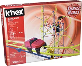 K`NEX Thrill Rides - Clock Work Roller Coaster Building Set – 305 Pieces – For Ages 7+ Engineering Education Toy