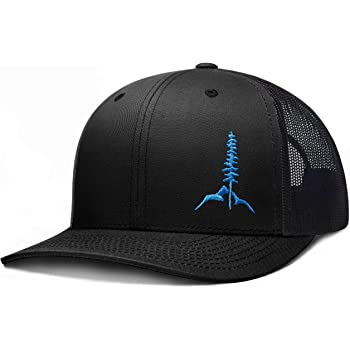 LARIX GEAR Trucker Hat, Tamarack Mountain