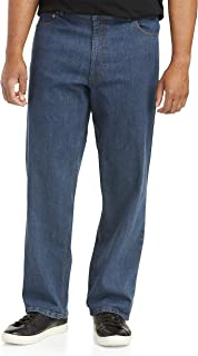 Harbor Bay by DXL Big and Tall Relaxed Fit Stretch Jeans