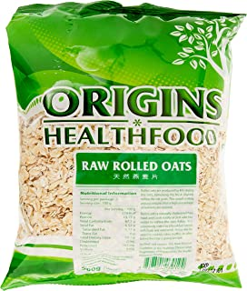 Origins Raw Rolled Oats, 500g