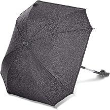 ABC Design Universal Sonnenschirm Sunny – für Kinderwagen und Buggy – UV-Schutz 50 – Universalhalterung für Rund- und Ovalrohre – Farbe: street