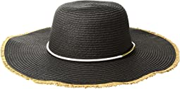 San Diego Hat Company - PBL3087OS Paperbraid Floppy w/ Gold Bar Trim