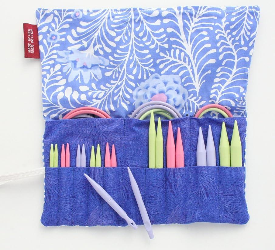 Denise2Go Interchangeable Knitting Needles, Sharp Short Tips Complete (US5-15) (Tendril)