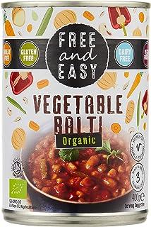 Free & Easy Organic Vegetable Balti, 400g