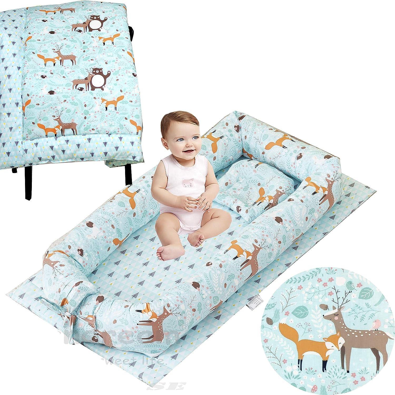 Brandream Boys Baby Nest Product Bed Newborn Animal Porta Jungle Super sale Lounger