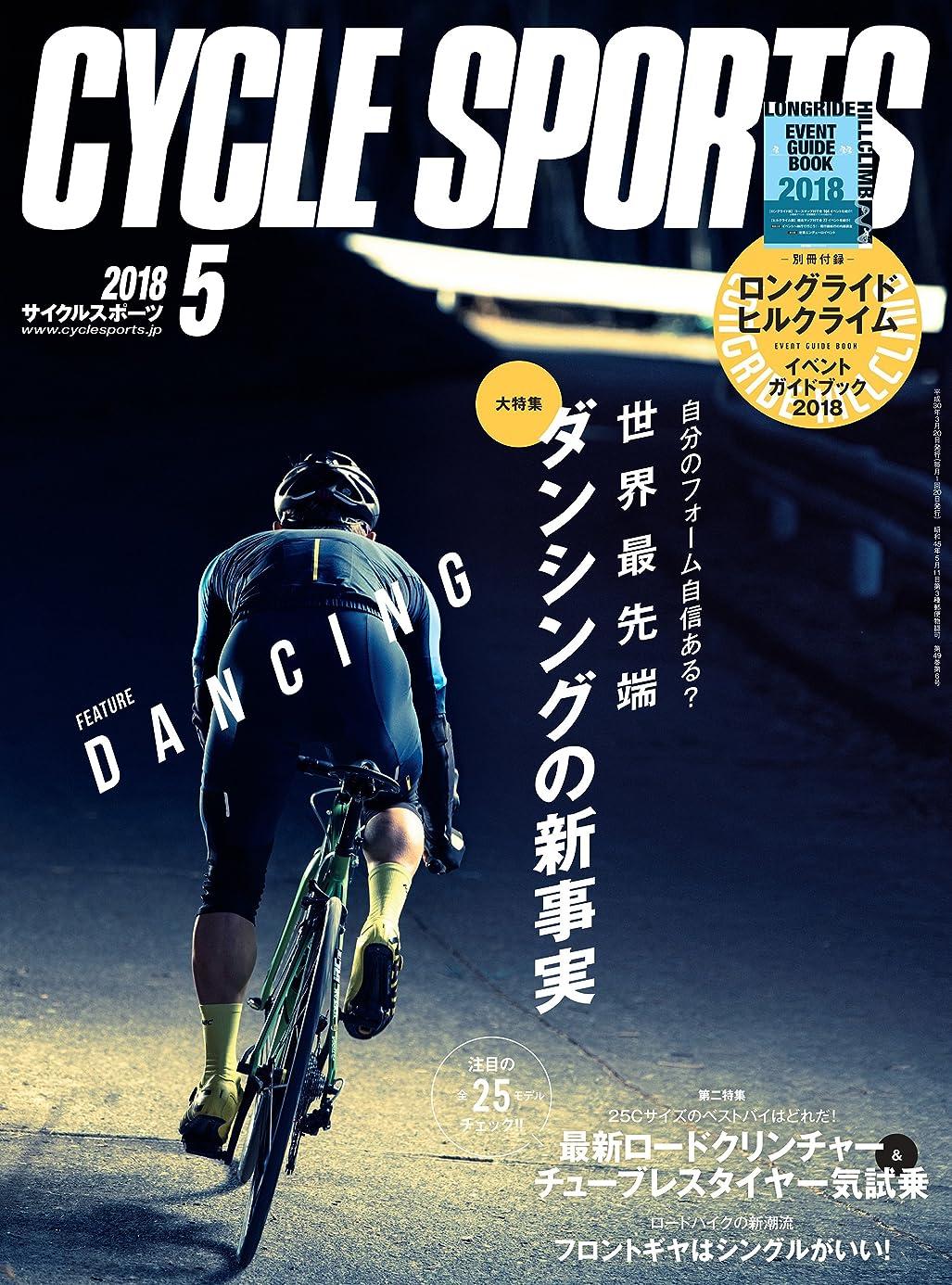ノベルティデコレーションかんがいCYCLE SPORTS (サイクルスポーツ) 2018年 5月号 [雑誌]
