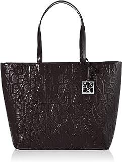 Armani Exchange Women's Shiny Liz - Open Shopping Shoulder Bag