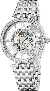 Stuhrling Original Womens Dress Watch - Skeleton Watch Self Winding Automatic Watch Mechanical Wrist Watches for Woman wit...