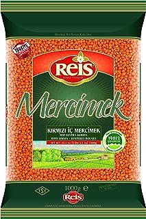 Reis Kırmızı Mercimek - Futbol Tane 1 kg