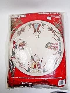 Christmas Cross Stitch #40-73 Santa Tree Skirt 44