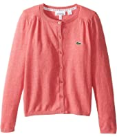 Lacoste Kids - Cotton Wool Cardigan (Infant/Toddler/Little Kids/Big Kids)