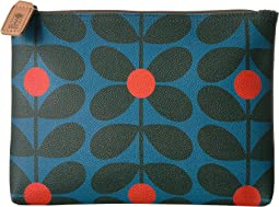 Orla Kiely Sixties Stem Vinyl Luggage Large Pouch