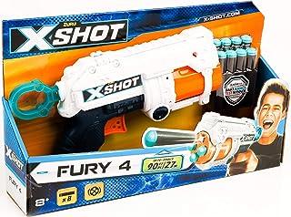 مسدس طلقات للاطفال اكس شوت من زورو Fury 4