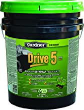 Gardner-Gibson 7545-GA Drive 5 Blacktop Driveway Filler/Sealer, 5 Gallon