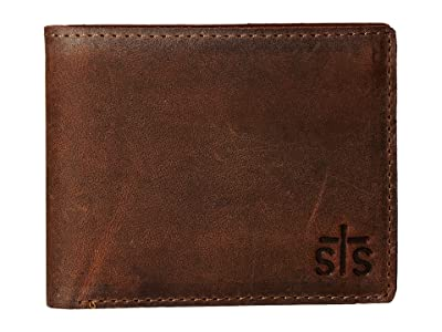 STS Ranchwear The Foreman Bi-Fold Wallet (Brown Leather) Bi-fold Wallet