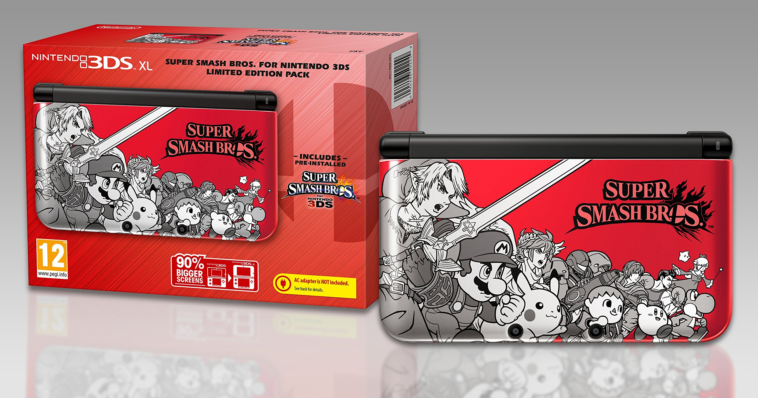Nintendo Handheld Console 3Ds XL - Limited Edition with Super Smash Bros [Importación Inglesa]: Amazon.es: Videojuegos