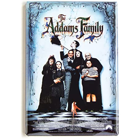 Wednesday Addams Gomez Addams Morticia Addams Addams Family inspired magnet refrigerator magnet Uncle Fester Pugsly Addams