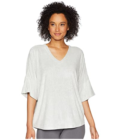 N by Natori Terry Lounge Top (Heather Grey) Women