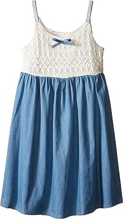 Crochet Bodice Dress (Little Kids)