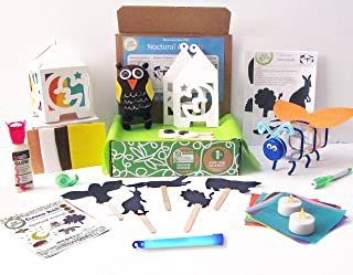 Green Kid Crafts, Nocturnal Animals Discovery Box